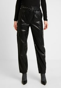 ONLY - ONLDEBRA CARGO PANT - Pantaloni - black - 0