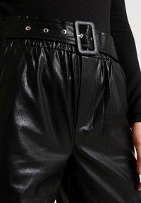 ONLY - ONLDEBRA CARGO PANT - Pantaloni - black - 5