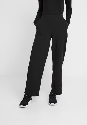 ONLMARTA ROCKY WIDE PANTS - Pantalon de survêtement - black