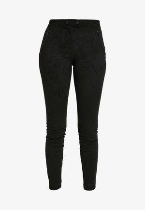ONLTIA TUVA LEGGING - Bukse - black