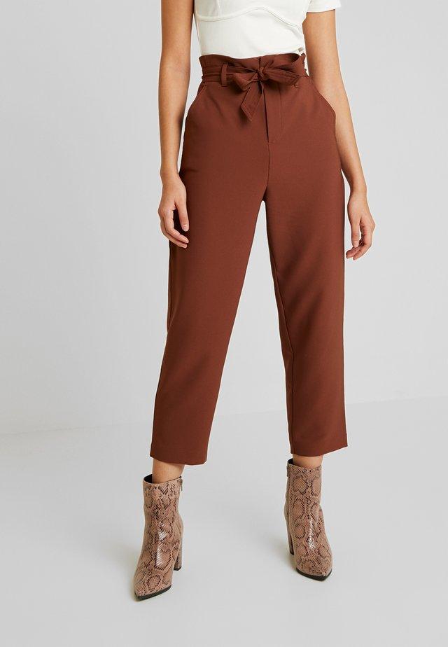 ONLALLY PANT - Pantalones - cappuccino