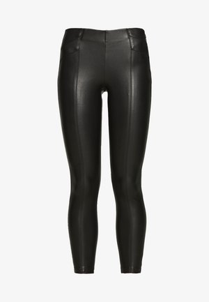 ONLTIA SUPERSTAR LEGGING - Pantaloni - black