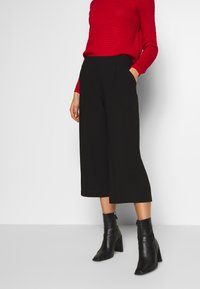 ONLY - ONLCAISA  - Trousers - black - 0