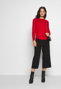 ONLY - ONLCAISA  - Trousers - black - 1