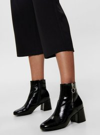 ONLY - HOSE CULOTTE - Trousers - black - 3