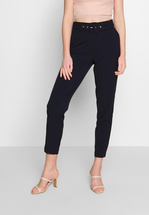 ONLTIKA BELT PANT - Trousers - night sky