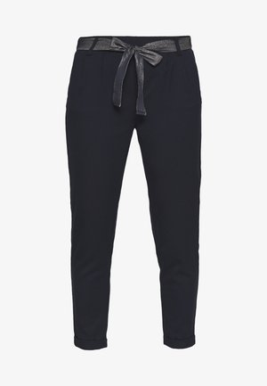ONLRITA LOOSE BELT PANT - Broek - night sky