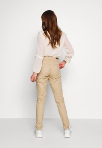 ONLY - ONLPARIS PANTS - Chinot - beige - 2