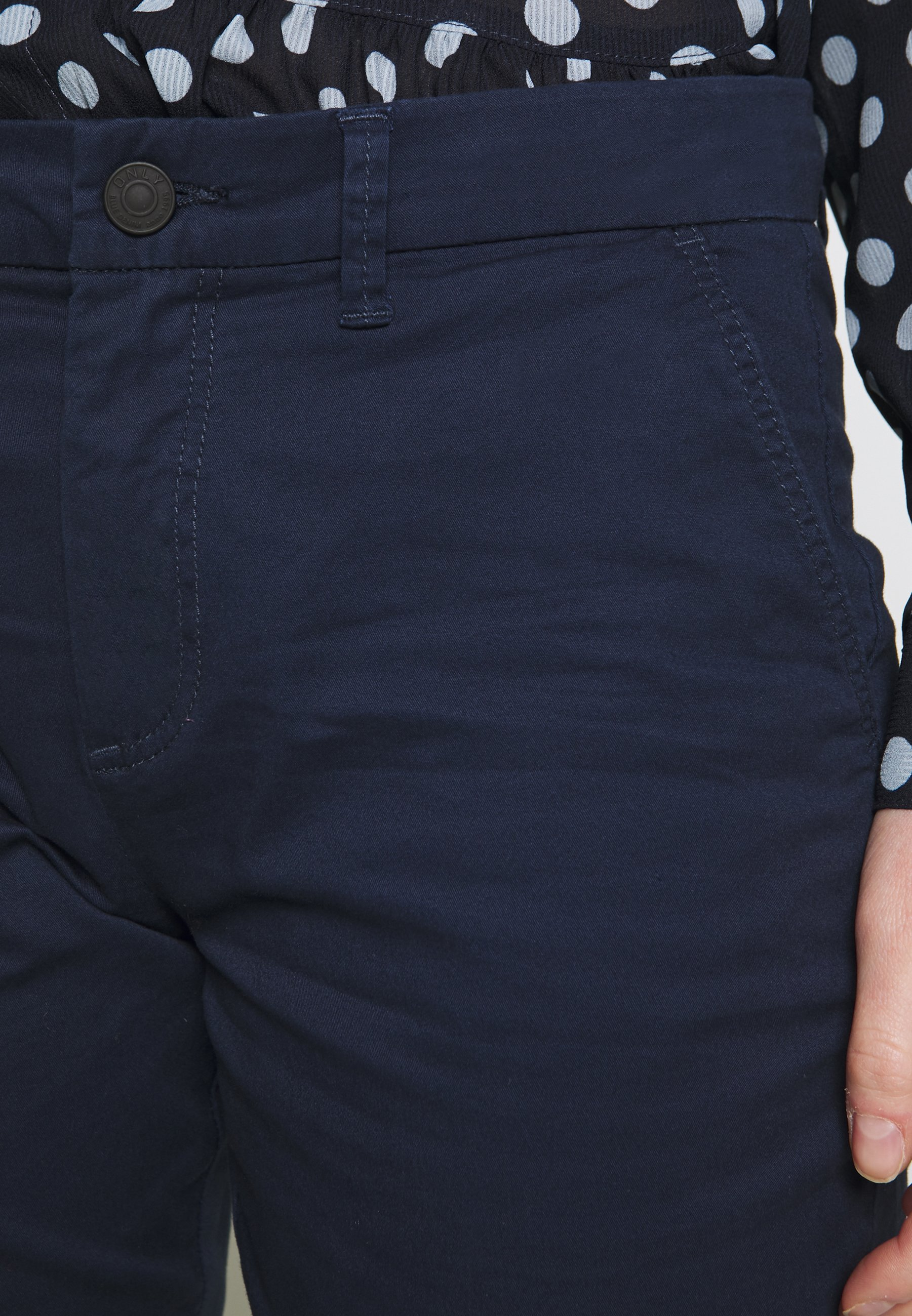 Only Onlparis Pants - Chino Navy Blazer