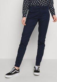 ONLY - ONLPARIS PANTS - Chinos - navy blazer - 0