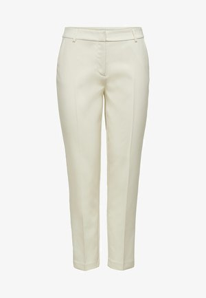 ONLVILDA ASTRID CIGARETTE PANT - Pantalon classique - whitecap gray