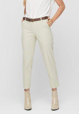 ONLVILDA ASTRID CIGARETTE PANT - Broek - whitecap gray