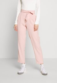 ONLY - ONLLAYLA RUNA LIFE SOLID PANT  - Pantalones - misty rose - 0
