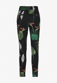 ONLY - ONLPOPTRASH EASY PRINT PANT - Pantalon classique - black - 1
