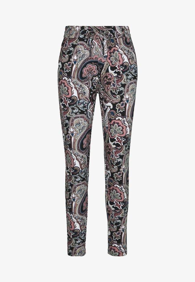 ONLPOPTRASH EASY PRINT PANT - Pantalones - black