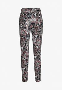 ONLY - ONLPOPTRASH EASY PRINT PANT - Trousers - black - 1