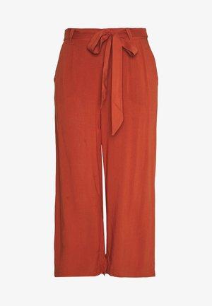 ONLNOVA LIFE CROP PALAZZO PANT - Spodnie materiałowe - arabian spice
