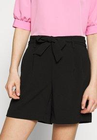ONLY - ONLSAGE RUNA LIFE  STRIPE   - Shorts - black - 4