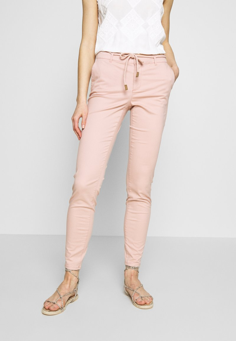 ONLY - ONLMAUDE BONACO CHINO PANT - Bukse - misty rose