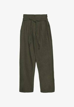 ONLVIVA LIFE BELT PANT - Trousers - forest night