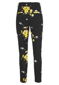 ONLY - ONLPOPTRASH EASY GOLDEN PANT - Trousers - black - 1