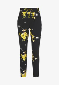ONLY - ONLPOPTRASH EASY GOLDEN PANT - Trousers - black - 0