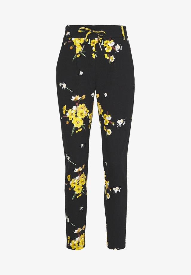 ONLPOPTRASH EASY GOLDEN PANT - Pantalones - black