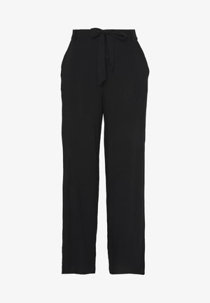 ONLNOVA LIFE PALAZZO PANT SOLID - Pantalones - black