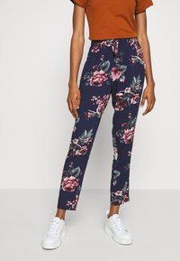 ONLY - ONLNOVA LIFE PANT - Bukse - night sky/rose - 0