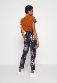 ONLY - ONLNOVA LIFE PANT - Bukse - night sky/rose - 2