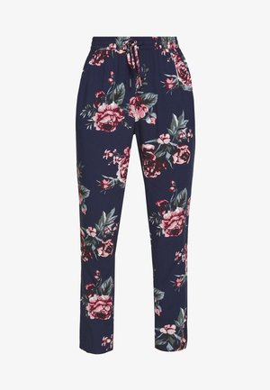 ONLNOVA LIFE PANT - Bukse - night sky/rose
