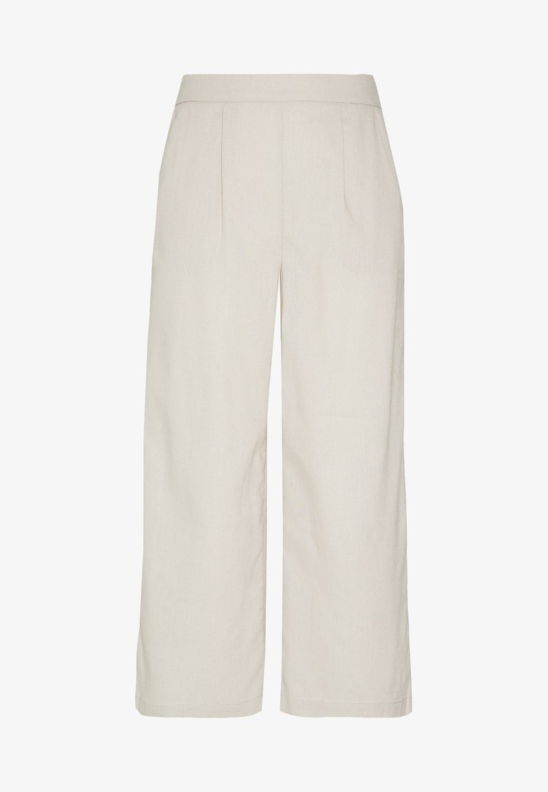 ONLY - ONLCARISA BIBS CULOTTE PANT  - Trousers - pumice stone