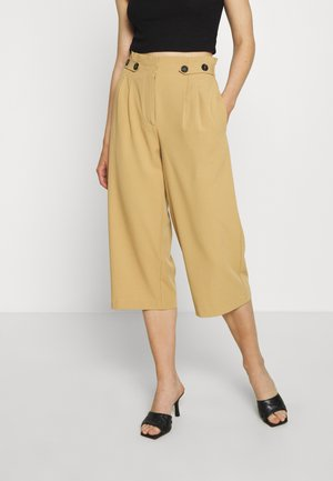 ONLTHEIA JOURNEY LIFE CULOTTE - Pantalones - iced coffee