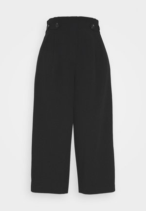 ONLTHEIA JOURNEY LIFE CULOTTE - Trousers - black