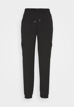ONLNEVIE SONJA LIFE  STRING PANT - Pantalon classique - black