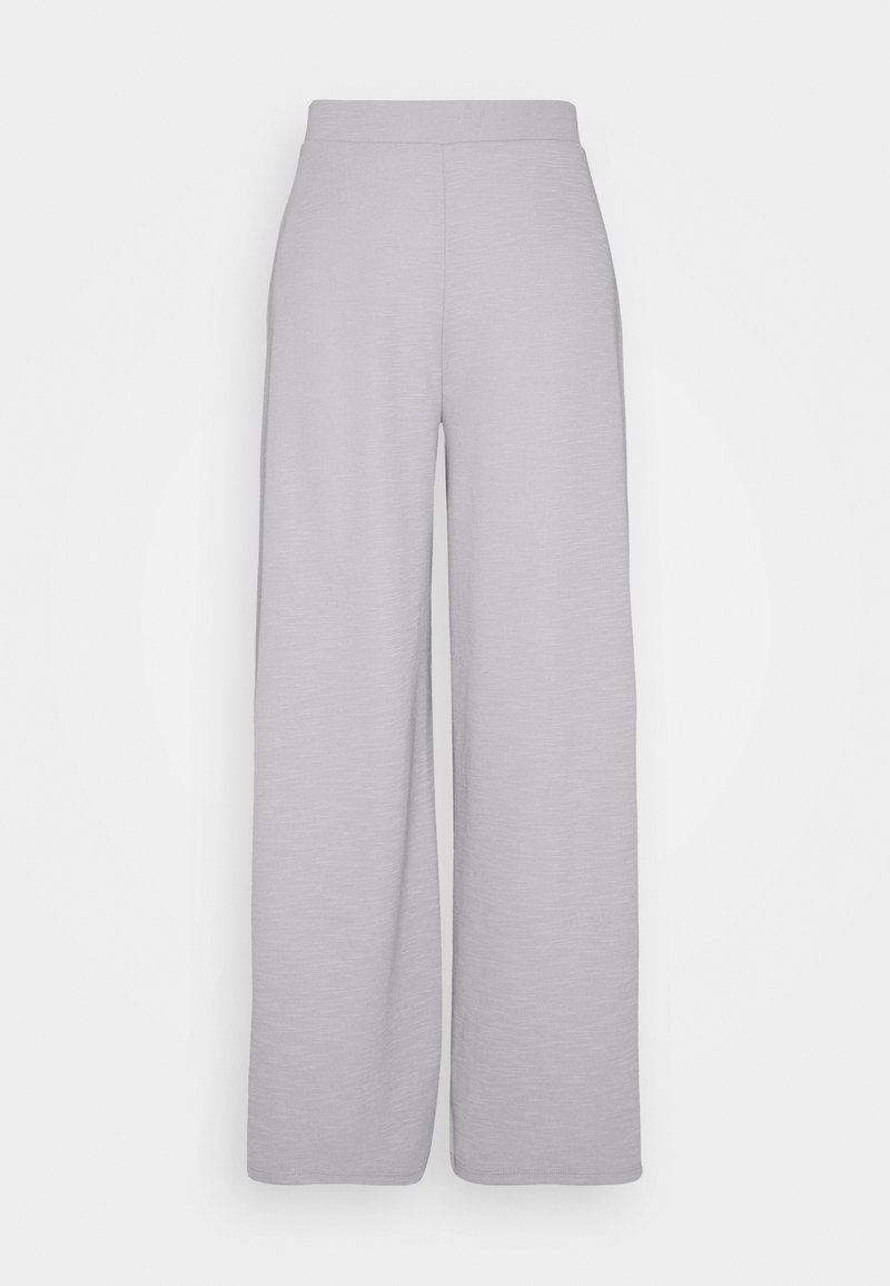 ONLY - ONLLAYLA WIDE PANTS - Bukse - light grey melange