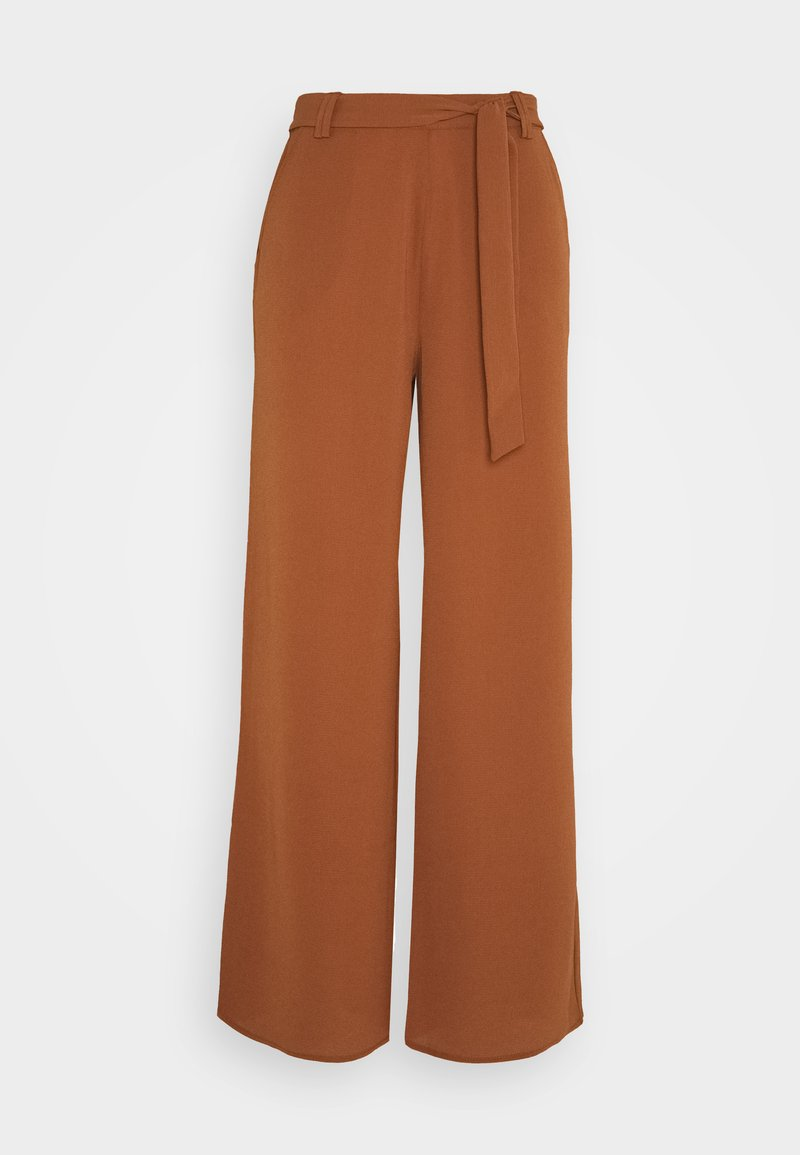 ONLY - ONLNOVA PALAZZO PANT SOLID - Pantalones - tortoise shell