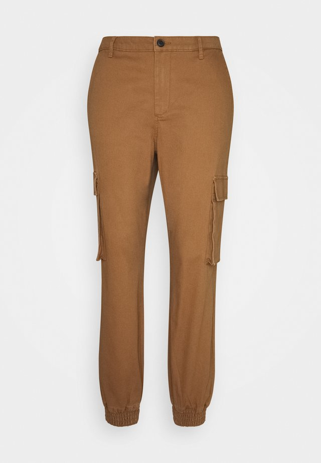 ONLMADEA TIGER LIFE PANT - Pantalones - toasted coconut