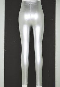 ONLY - ONLSADIE LONG  - Leggings - silver matt - 3