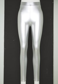 ONLY - ONLSADIE LONG  - Leggings - silver matt - 2