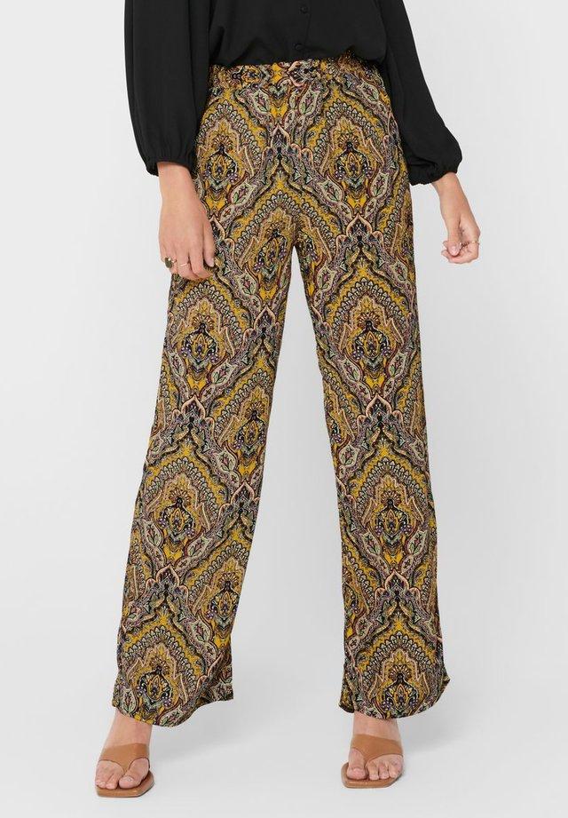 Pantalones - golden spice