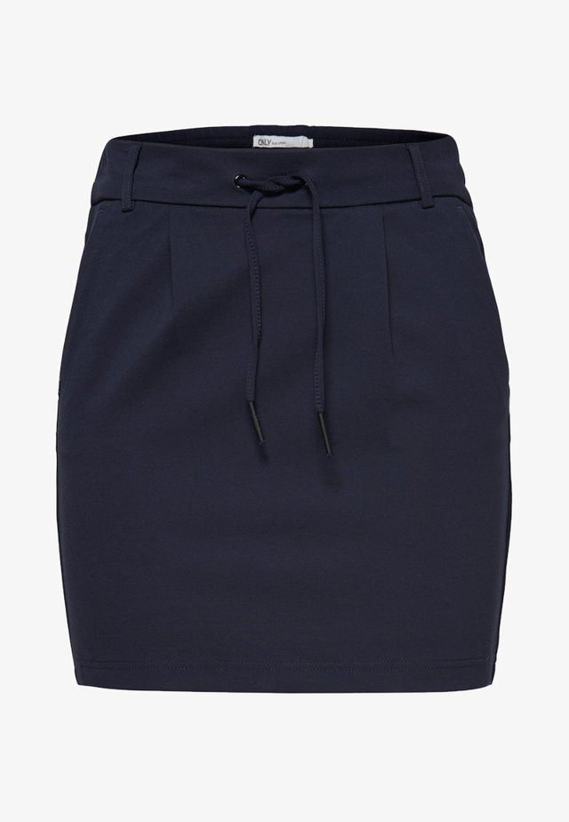 ONLPOPTRASH - Pencil skirt - dark blue