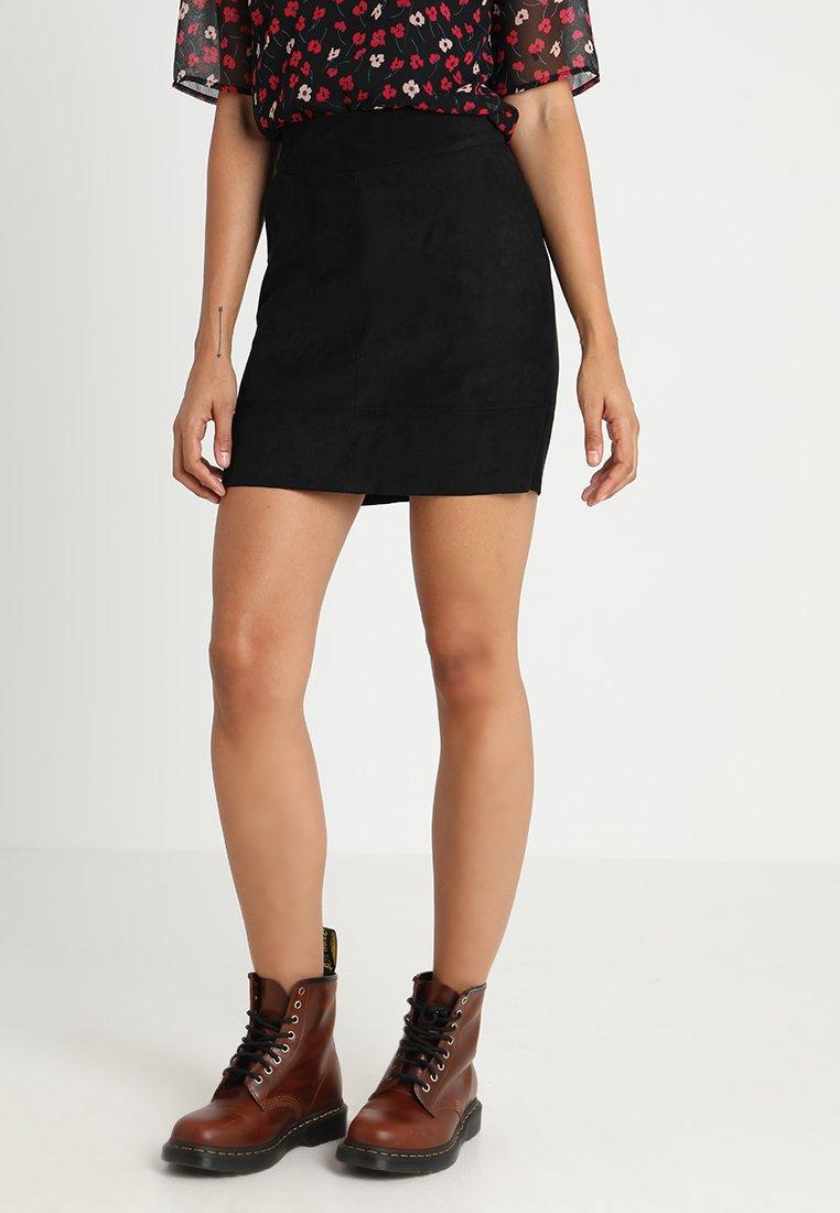 ONLY - ONLJULIE - Minifalda - black