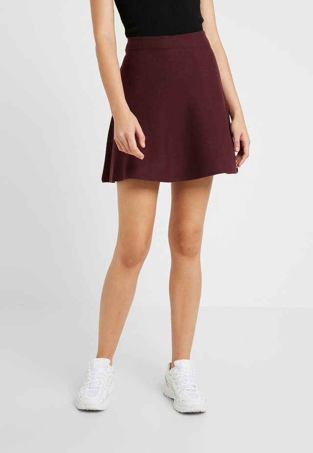 ONLNEW DALLAS SKIRT - Falda acampanada - port royale