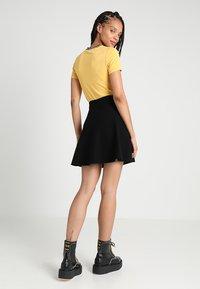 ONLY - ONLNEW DALLAS SKIRT - A-line skirt - black - 2