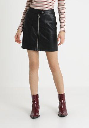 ONLABIGAIL SKIRT - Mini skirt - black