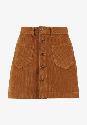 ONLAMAZING - A-line skirt - rustic brown