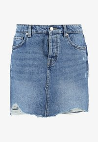 ONLY - ONLSKY SKIRT - Falda vaquera - light blue denim - 3