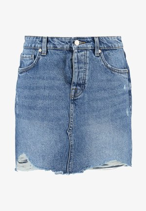 ONLSKY SKIRT - Gonna di jeans - light blue denim