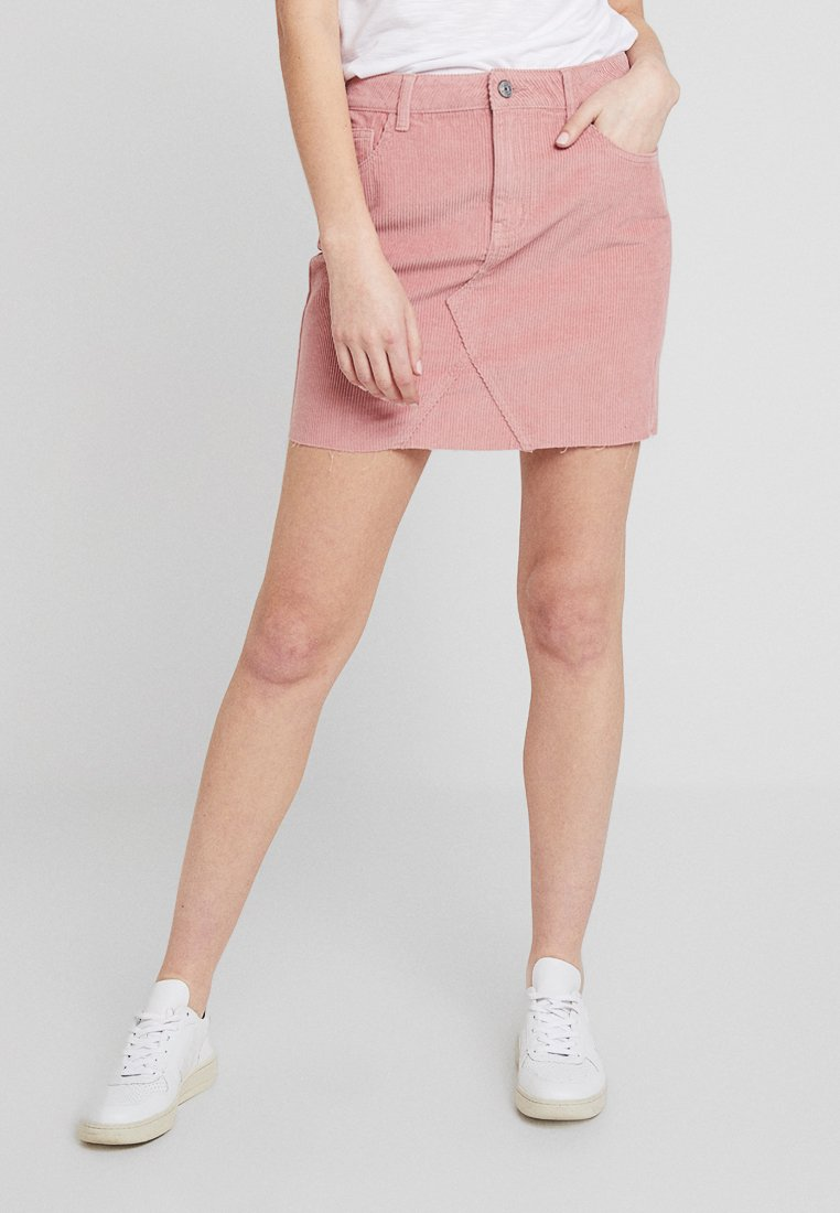 ONLY - ONLTOUCH UP SHORT SKIRT - Minirock - old rose